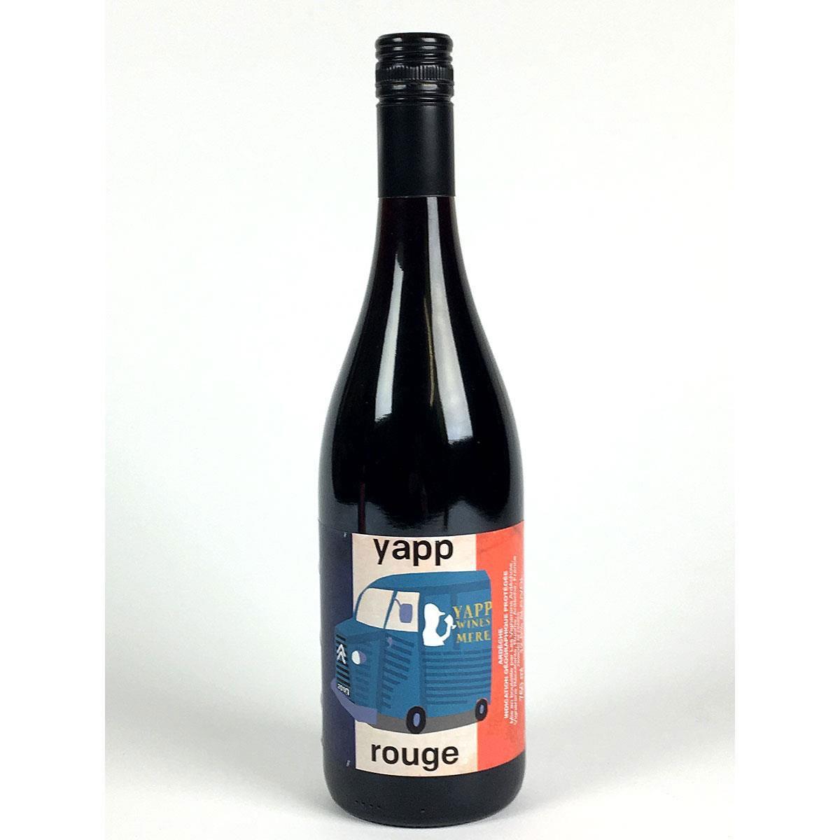 Yapp Rouge 2017 - Bottle