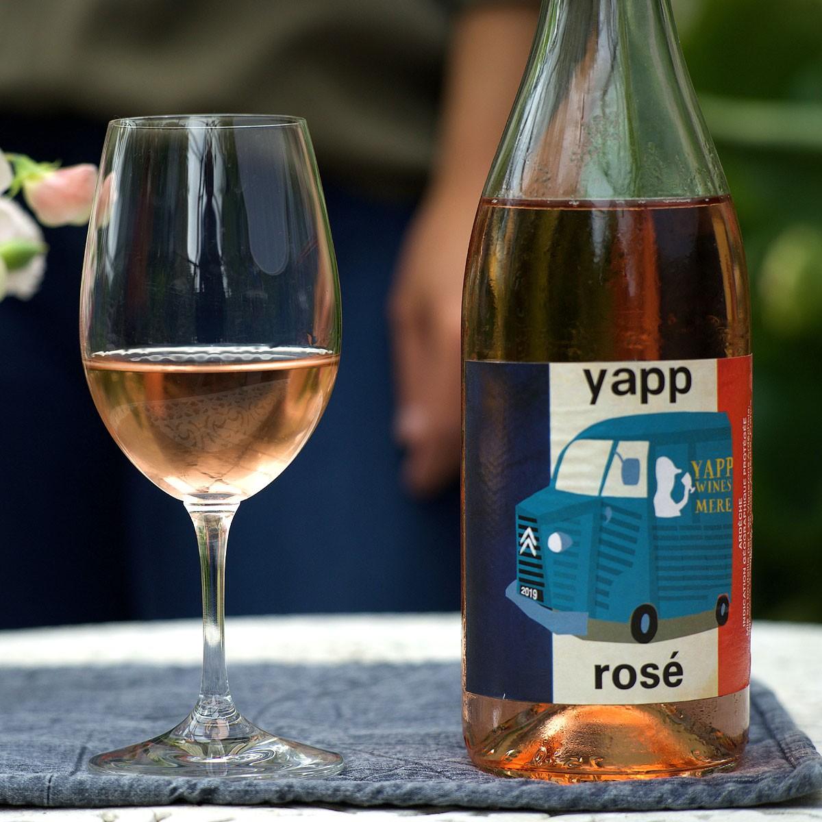 Yapp Rosé 2019 - Lifestyle