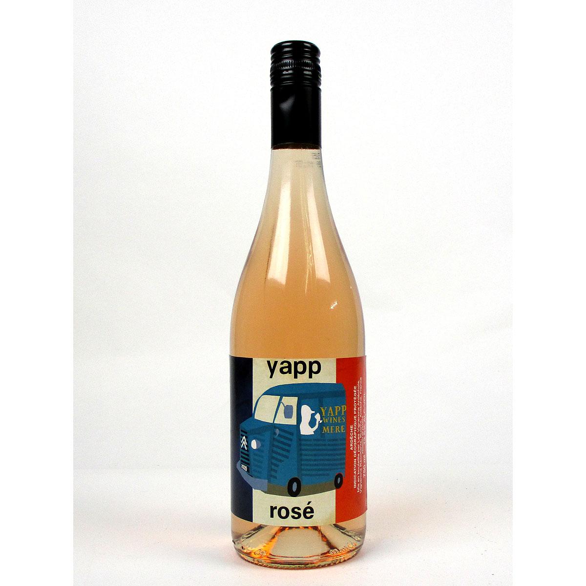 Yapp Rosé 2020 - Bottle