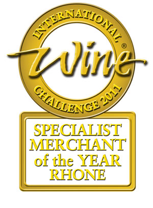 IWC Award 2011 - Specialist Wine Merchant - Rhone