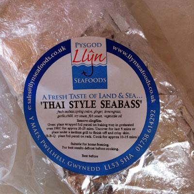 Thai Style Sea Bass