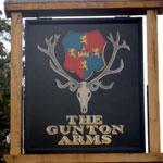 The Gunton Arms - Sign