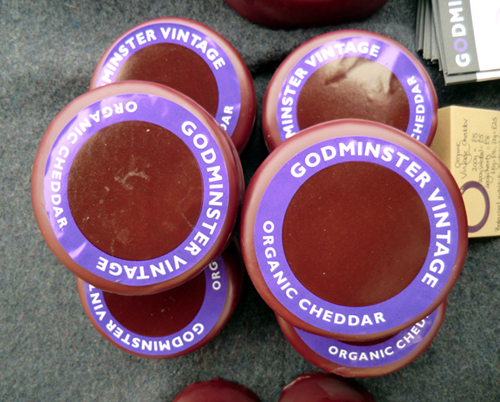 Wine and Cheese - Godminster Cheddar