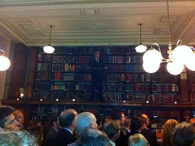 London Library - Heywood Hill - Bill Nighy