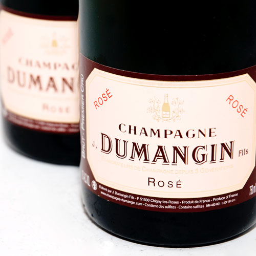 Rose champagne - Dumangin