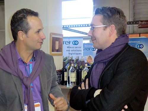 Tom Ashworth with Laurent Bunan from Bandol