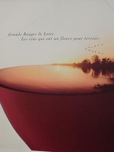 Loire wine poster