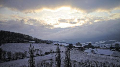 Beaujolais Winter Sunrise
