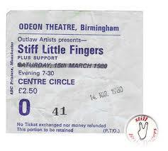 Stiff Little Fingers ticket