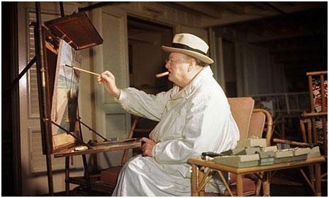 Chateau Simone Palette - Winston Churchill