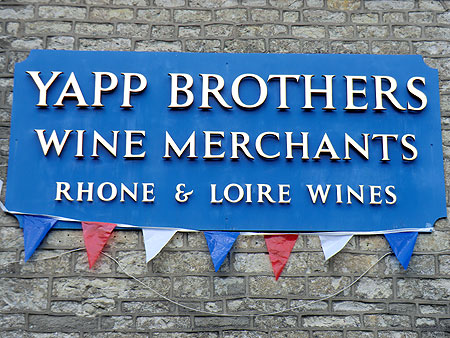 Yapp Brothers Wine Merchants Sign & Bunting
