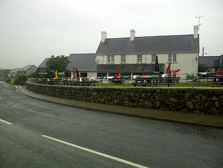The Lion pub, Tudweiliog