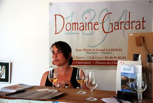 Emilie at Domaine Gardrat