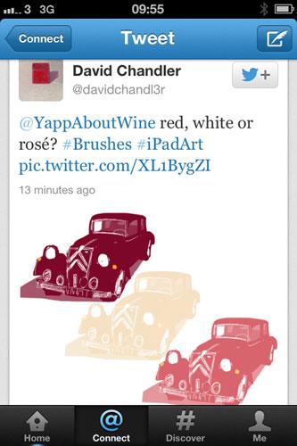 David Chandler tweet
