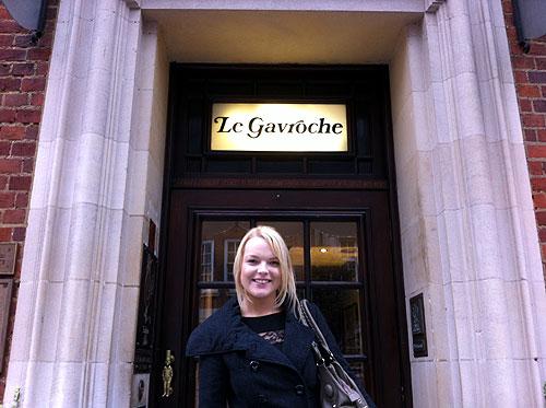Outside Le Gavroche