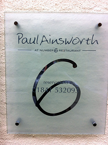 Paul Ainsworth - Number 6, Padstow