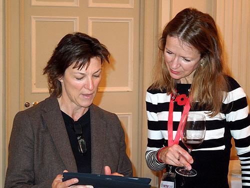Christine Campadieu and Joanna Simon