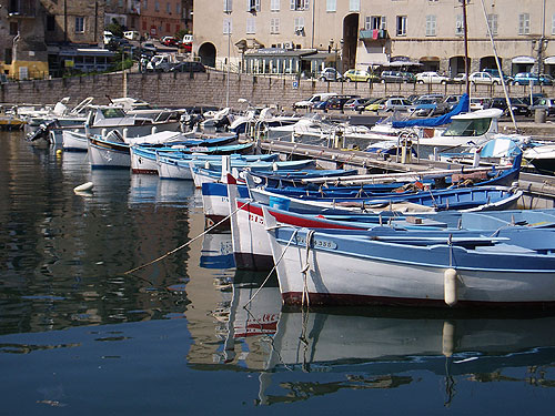 The Harbour at Bastia