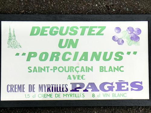 St Pourcain Sign