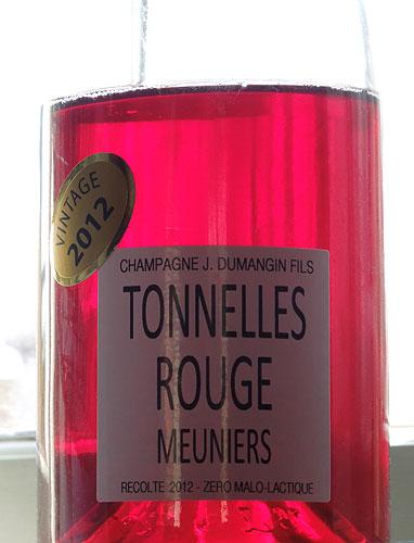 Tonelles Rouge 2012