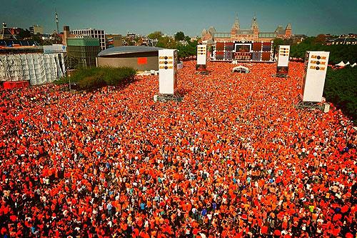 Netherlands celebrates