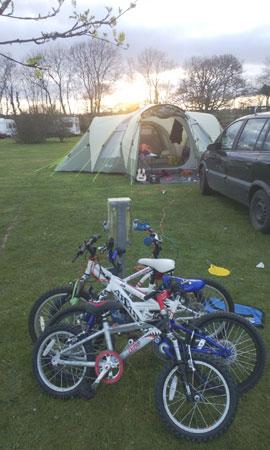 camping detritus