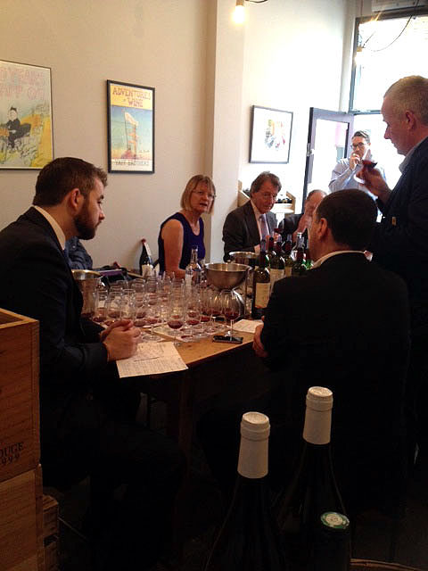Domaine de Trevallon tasting with Jason Yapp