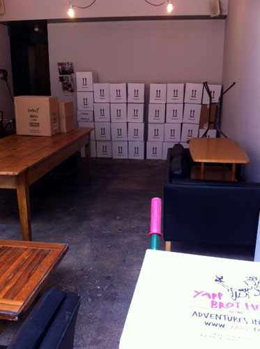 Pop-up Shop - boxes