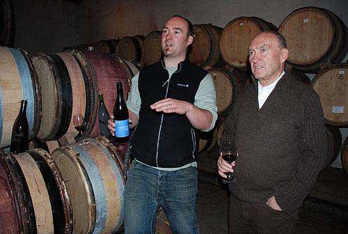 Maxime and Alain Graillot