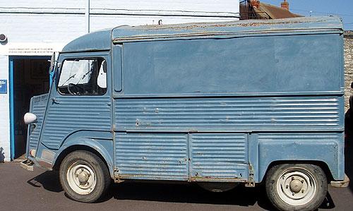 Citroen H-van (as bought)
