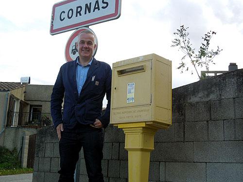 Jason Yapp in Cornas