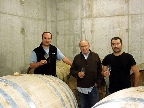 Maxime, Alain and Antoine Graillot