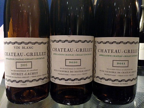 Chateau Grillet wine