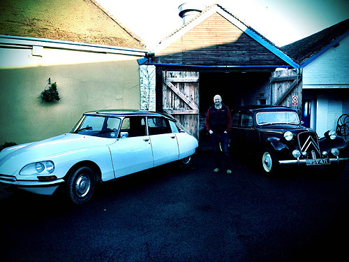 Citroen DS and Traction