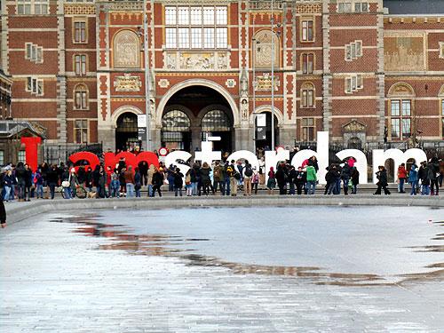 I Amsterdam - Rijks Museum