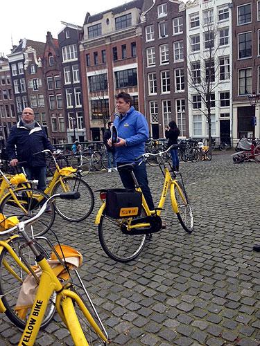 yellow bike tour