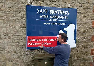 Ho, Ho and Thrice Ho - The Yapp Christmas Tasting and Sale