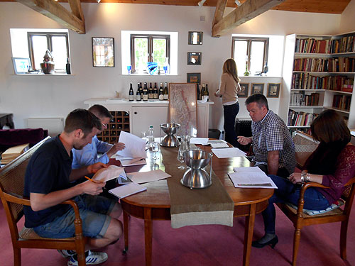 Burgundy Wine Tasting - Team Yapp