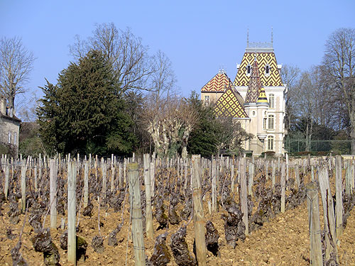 Chateau at Aloxe-Corton