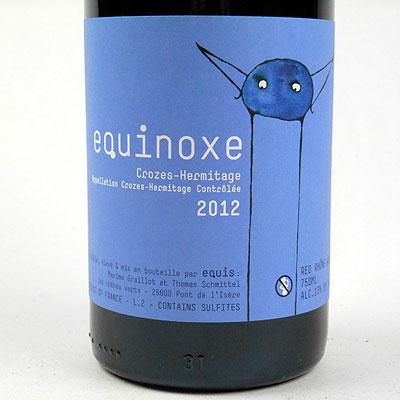 Crozes-Hermitage 'Equinoxe': Maxime Graillot and Thomas Schmittel