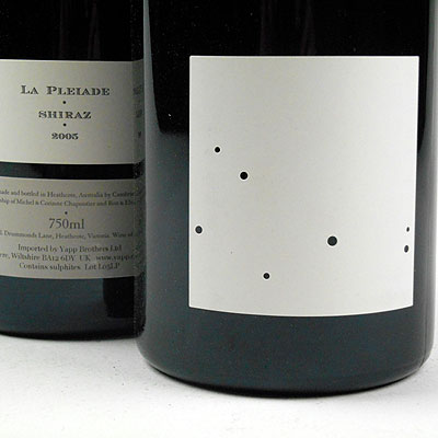 Jasper Hill and Michel Chapoutier 'La Pleiade'