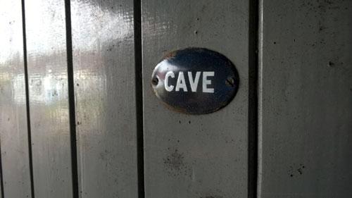 cellar - cave