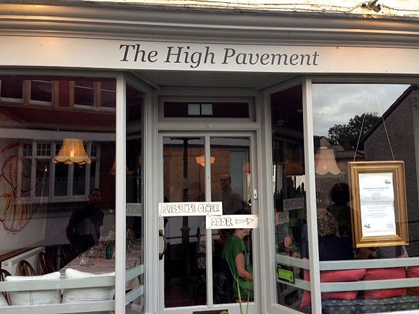 High Pavement Cafe