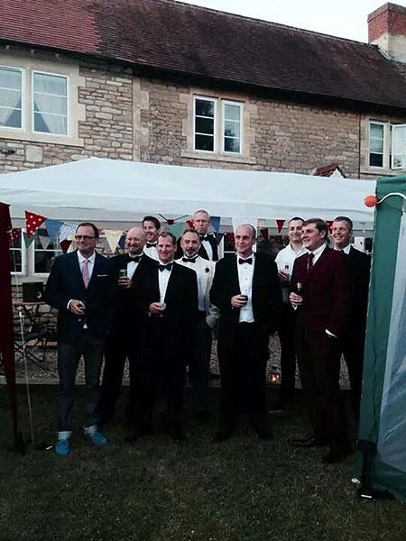 garden party blokes