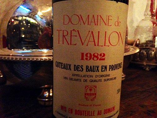Domaine de Trevallon 1982