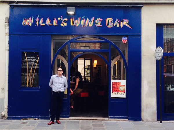 Tom at Willi's Wine Bar