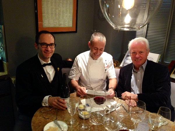 David Galetti, Michel Roux & Silvano Giraldin.
