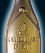 Chateauneuf-du-Pape mitre bottle