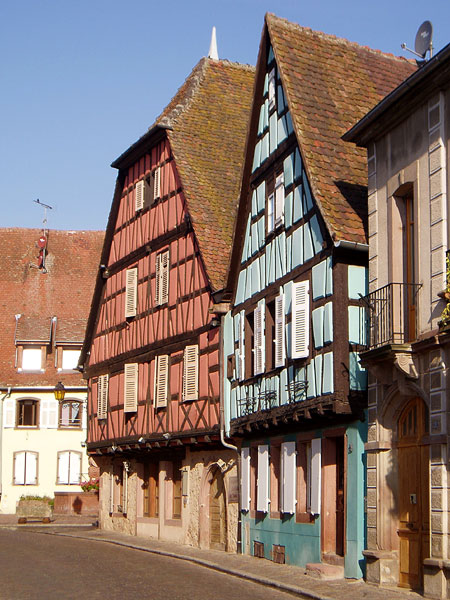 Painted Buildings in Alsace