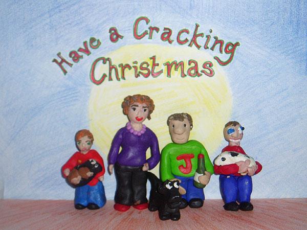 Aardman Christmas Card